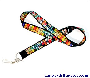 Lanyards en sublimación a todo color.